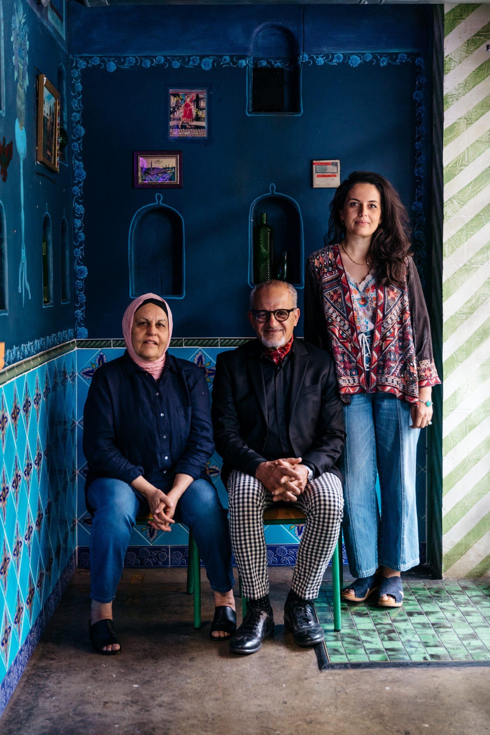 Farida, Zelmai and Durkhanai Ayubi of Parwana Afghan Kitchen. Photo: Sia Duff