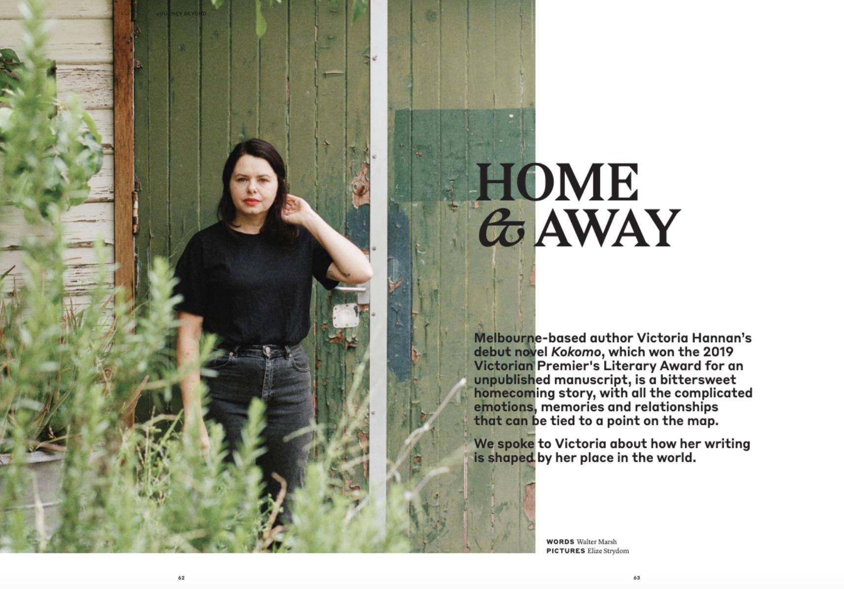 Victoria Hannan interview for Journey Beyond Magazine