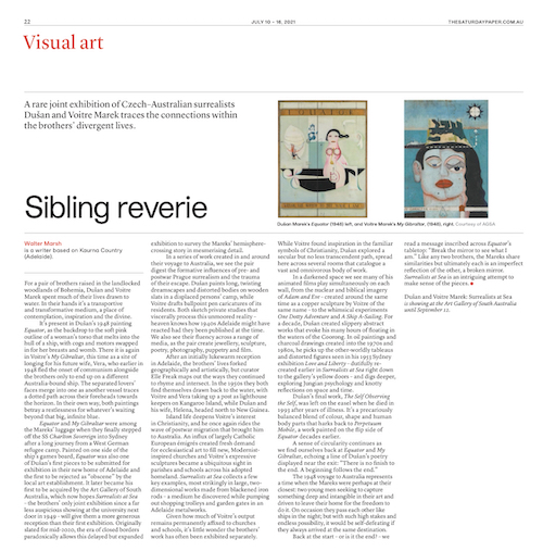 Surrealists at Sea review for The Saturday Paper